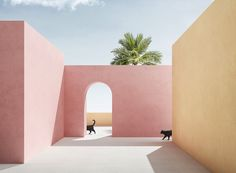 massimo colonna renders perfectly surreal open-air architecture in latest digital series | Netfloor USA