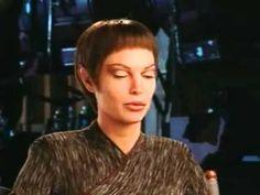 Jolene Blalock is interviewed on the set of Enterprise during the filming of the first season Jolene Blalock, Net Worth, Star Trek, Science Fiction, Tv Series, Interview, Universe, Husband, Actresses