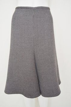 Armani Collezioni Tweed Woven Skirt Brown & Blue SRP $585, On Sale for $277 #armanicollezioni #tweedskirt #fallskirts