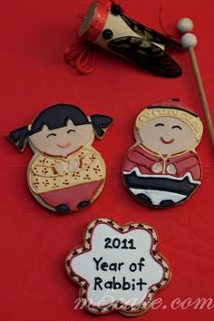 Cookies Chinese New Year Part 2 � Galletas A�o Nuevo Chino Parte 2