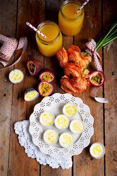 Maracuja Mini Cheesecake - Passionfruit Mini Cheesecake | Das Knusperstübchen