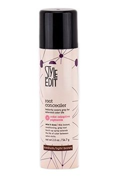 Or so she says…:Best Products for Covering Gray Hair Between Colorings - Or so she says...
