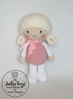 Kathrin peukert kathi2208 on pinterest crochetsheeppattern lilin crochet sheep httpsetsy fandeluxe Gallery