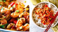 Krevetové kung pao Foto: Chicken Wings, Shrimp, Meat, Food, Eten, Meals, Diet