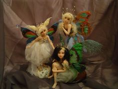 Fairy Friends by LindaJaneThomas on DeviantArt