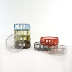 Designed by Ronan and Erwan Bouroullec for Kartell, the Panier Table brings function and style to your modern living room. http://www.yliving.com/blog/top-10-italian-furniture-pieces/