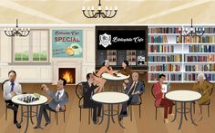 Welcome to Bibliophile Cafe
