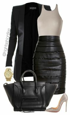 How To Wear: Best Casual Outfit Ideas 2019 - Casual Outfit Others - Modetrends Mode Outfits, Fall Outfits, Fashion Outfits, Womens Fashion, Fashion Trends, Office Outfits, Fashion News, Fandom Fashion, Black Outfits