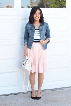 Fancy Casual for a Bridal Shower - Putting Me Together