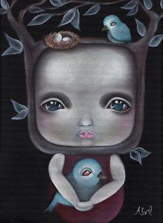 """Nesting,"" Abril Andrade"