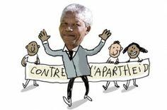 Vidéo - C'est quoi, l'apartheid ? Nelson Mandela, Apartheid, Fictional Characters, Languages, Classroom Ideas, French, Noodles, Simple Words, Trivia