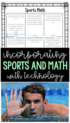 Math Lessons that Incorporate Food and Sports - Ashleigh's Education Journey Math Strategies, Math Resources, Math Activities, Math Tips, Instructional Strategies, Math Teacher, Math Classroom, Teaching Math, Maths