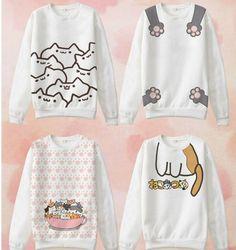 www.sanrense.com - Cute cat cartoon t-shirts SE9123
