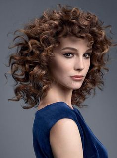 Sophisticated Professional Long Curly Top Quality 100% Human Hair Full Lace Wig 12 Inches