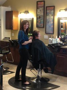 Diana, salon owner