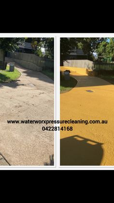 Concrete driveway sealing and painting Brisbane to the Gold Coast by www.waterworxpressurecleaning.com.au