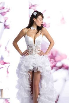"""Inappropriate Wedding Dresses: This one says """"WHEE! Check out my private parts!"""""""