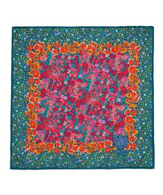 Liberty - Pink Floral Medley Silk Scarf