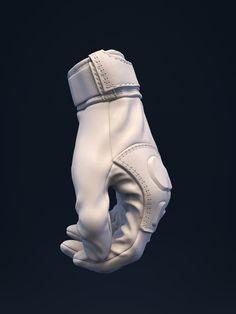 ArtStation - Girl in exo - Leather Gloves, Brice Laville Saint-Martin