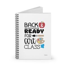 Notebook for Girls, Personalized Back to School Gift, Spiral Notebook for Teachers and Students, Art Class Journal Special Birthday Gifts, Birthday Gifts For Her, Class Journals, Birthday Reminder, Mailing Envelopes, Planning And Organizing, Back To School Gifts, School Notes, Gsm Paper