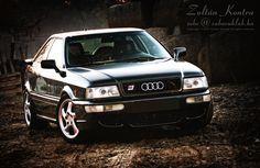 Audi 80 S2 Coupe...911 Turbo rims look amazing!!!
