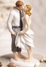 Beach Get Away Wedding Cake Topper. $34.95