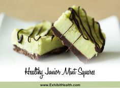 Healthy Junior Mint Squares is very delicious and healthy version of Junior Mints but in square form with added avocado.