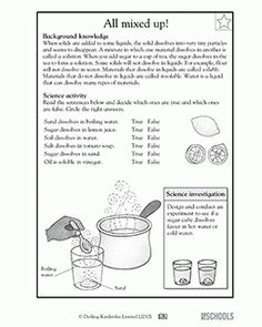 Worksheets Separation Of Mixtures Worksheet our 5 favorite prek math worksheets 3rd grade 4th science separating mixtures