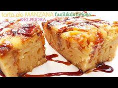 🍰 😋PASTEL de MANZANAS 😋🍰, (tarta RÁPIDA y DELICIOSA) - YouTube Cooking Time, Cooking Recipes, Party Desserts, Apple Crisp, Dessert Bars, Thanksgiving Recipes, Delicious Desserts, Food To Make, Sweet Tooth