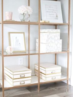 Blush And Gold Glam Office Reveal – Summer Adams – Chic Home Office Design Home Office Space, Home Office Design, Home Office Furniture, Home Design, Office Designs, Design Ideas, Small Office, Interior Design, Interior Office