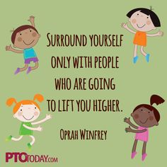 Great quote to share with your team! (Of course, from Oprah!)
