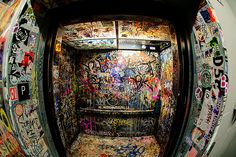 i want to have a dance party in this elevator.  or a double decker bus, even.