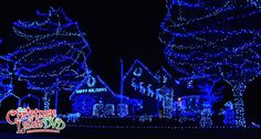 I'll have a blue Christmas.... See more houses like these on The Christmas Lights DVD. www.TheChristmasLightsDVD.com