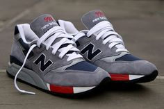 "NEW BALANCE 998 MADE IN USA ""NAVY GREY"""