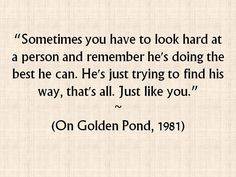 On Golden Pond Quotes Best 5Bbab958E1475F8Dc97C1731F17658C7 960×954 Pixels  __Perfectly