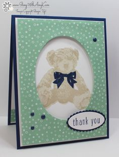 Stampin' Up! Baby Bear Thank You
