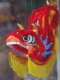 Mark Fisher American Photographer™: A Dragon Puppet • American Photographer Mark Fishe...