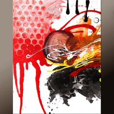 Abstract Art Prints 11x14 Contemporary  Modern Art by by wostudios, $25.00