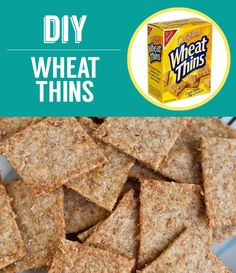 Homemade Wheat Thins | 27 Classic Snacks You'll Never Have To Buy Again