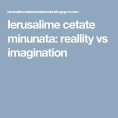 Ierusalime cetate minunata: reallity vs imagination Boarding Pass, Heaven, Blog, Imagination, Sky, Heavens, Fantasy, Blogging, Paradise