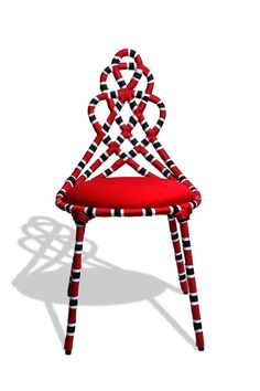I pinned this cool chair last week. It's called Cadeira Cobra Coral, Image via: Boobam