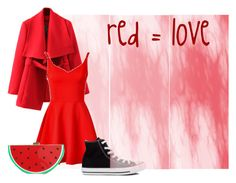 """""""red #4"""" by lallushka on Polyvore"""