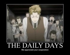Baccano! - The Daily Days - We appreciate your cooperation