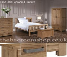 Bron Oak Bedroom Furniture
