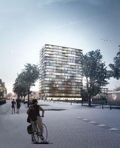 Wohnen mit Jackblock - Hochhaus-Umbau bei Den Haag
