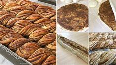 Haşhaşlı Burma Çörek Tarifi Apple Pie, Sausage, Almond, Food And Drink, Cooking Recipes, Vegan, Desserts, Recipe, Brot