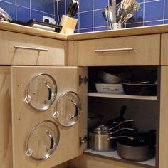 Cupboard Pan Lid Organizer