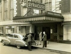 Readers offer passionate reflections on the Hotel Syracuse......see many old photos of the Syracuse Hotel and read lots of people's old memories here.  B  10/11/15