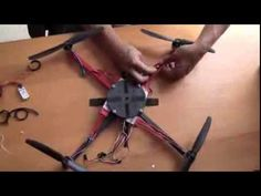 A DIY Quadcopter - Assembly - simple, cheap and easy. (Part 1 of 2) - YouTube