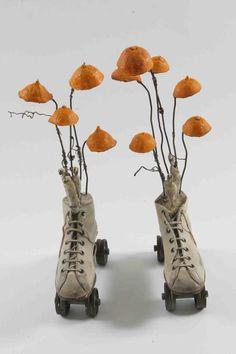 Gerard CAMBON - Locomobiles - Orange shoes 1 and 2